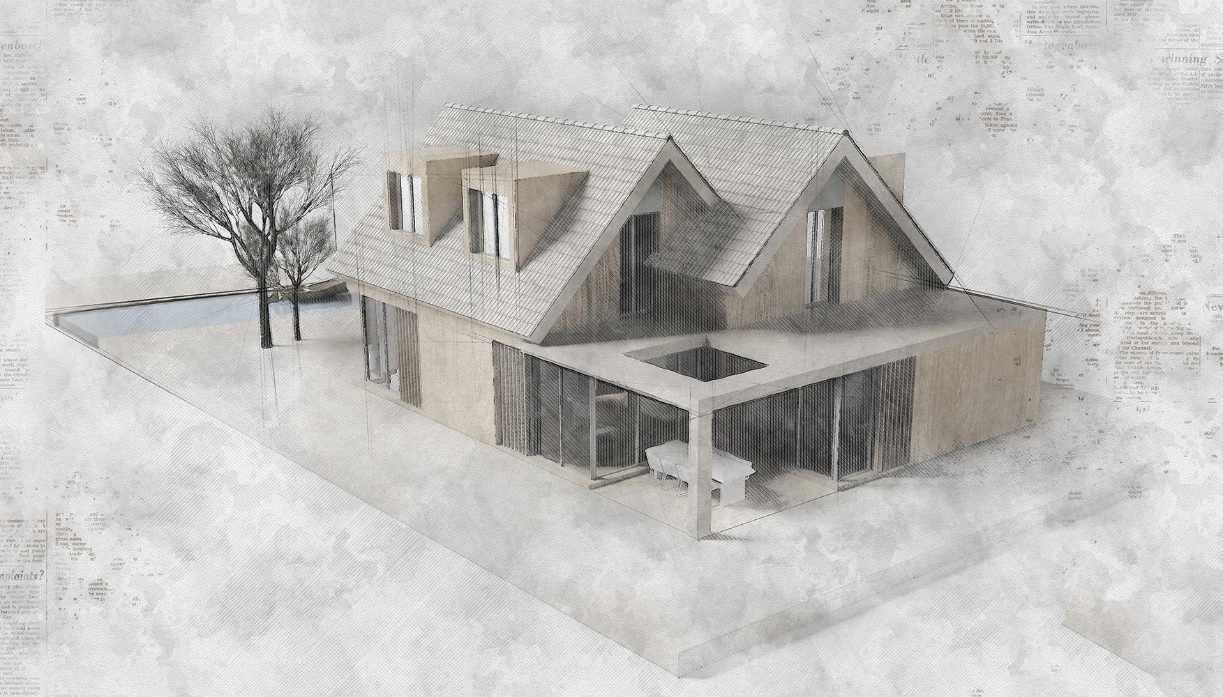 Maquette villa